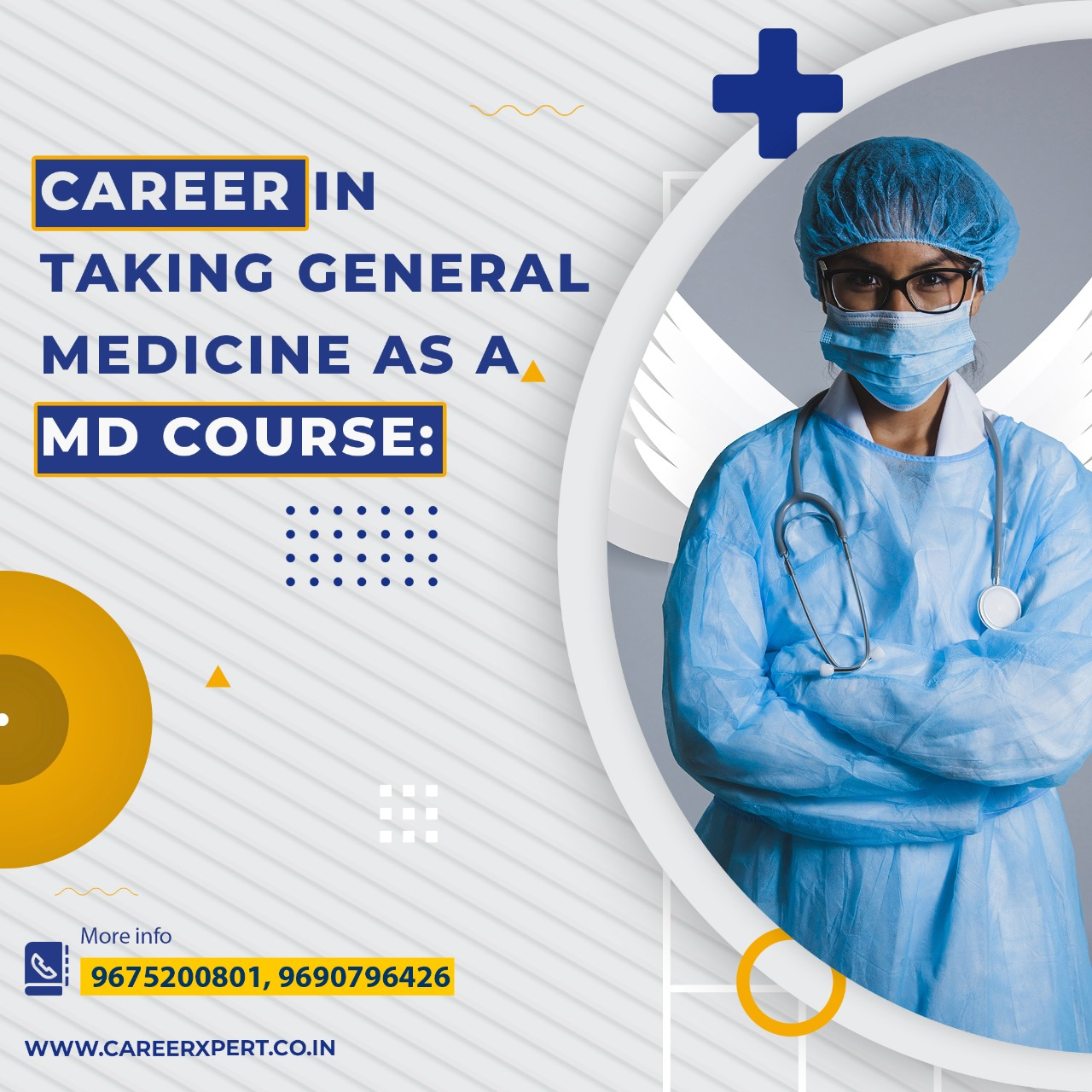 CAREER IN TAKING GENERAL MEDICINE AS A MD COURSE