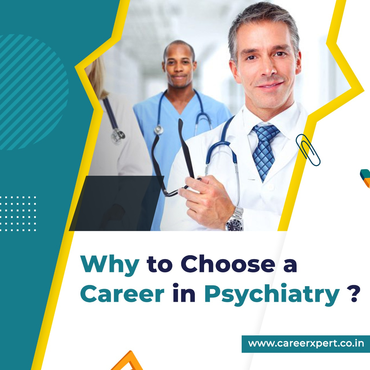 Why to choose a career in psychiatry
