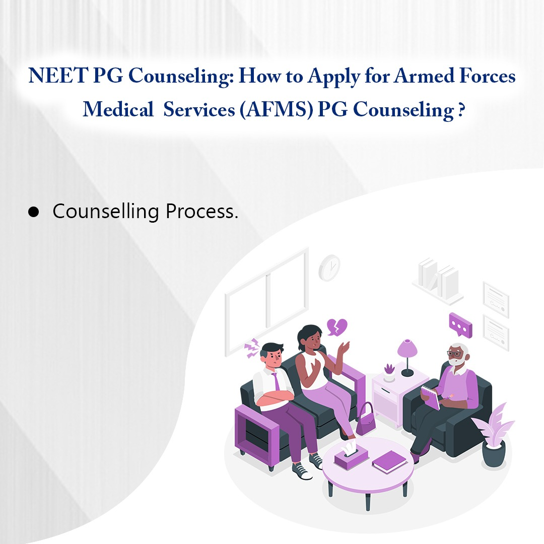 NEET PG Counseling: How to apply for Armed Forces Medical Services AFMS PG counseling